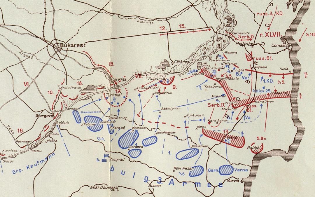 Pastila de istorie: 6 septembrie 1916