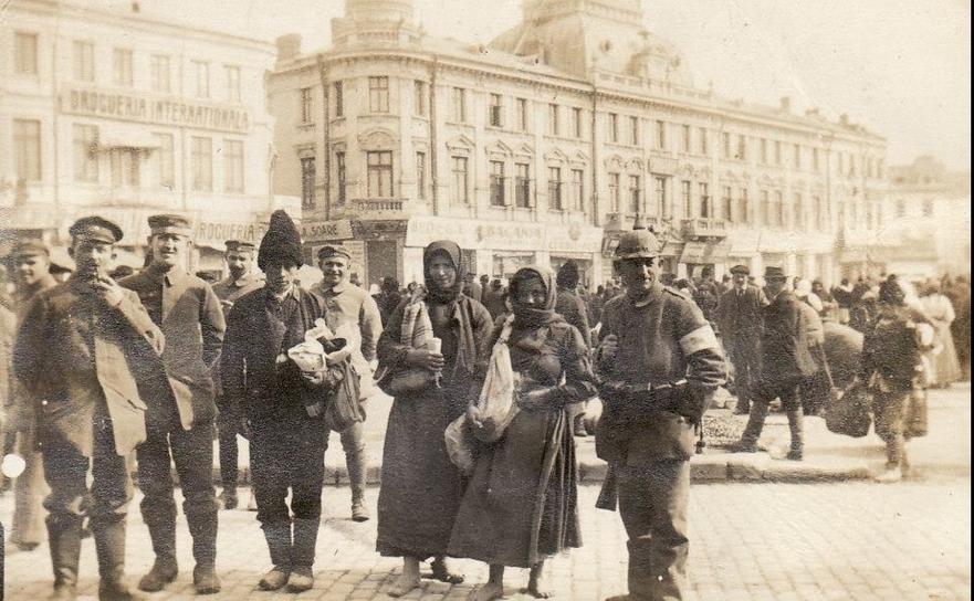 Tifosul și condițiile precare de trai în Bucureștiul ocupat