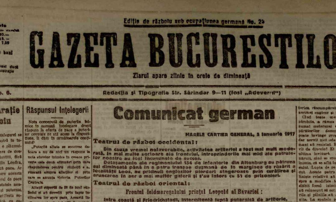 Propagandă asupra unei Românii asuprite